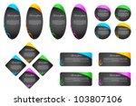 vector illustration of set of...   Shutterstock .eps vector #103807106
