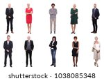 group of elder people | Shutterstock . vector #1038085348