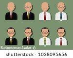 businessman avatar with...   Shutterstock .eps vector #1038095656