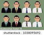 businessman avatar with...   Shutterstock .eps vector #1038095692