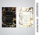 set of chic and elegant... | Shutterstock .eps vector #1038103852
