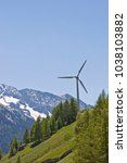 Small photo of Alternative energy generation with the help of a wind turbine has also found its way into the lonely valleys of South Tyrol