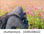 photographer take a photo in... | Shutterstock . vector #1038108622