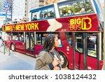 new york city  usa   october 28 ...   Shutterstock . vector #1038124432