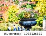 manhattan nyc central park new...   Shutterstock . vector #1038126832