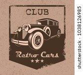 Vector Emblem Of The Car Club...