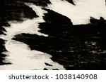 blank creased crumpled posters... | Shutterstock . vector #1038140908