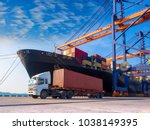 The Container Vessel  During...