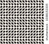 vector seamless lattice pattern.... | Shutterstock .eps vector #1038152335