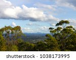 looking down from mt coot tha...   Shutterstock . vector #1038173995