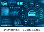hardware diagnostics condition... | Shutterstock .eps vector #1038178288