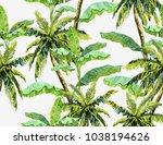 beautiful seamless vector...   Shutterstock .eps vector #1038194626