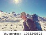 hike in kackar mountains in... | Shutterstock . vector #1038240826