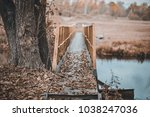 atmospheric autumn photo  old...   Shutterstock . vector #1038247036