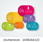infographic templates for... | Shutterstock .eps vector #1038266122