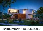 3d rendering of modern cozy... | Shutterstock . vector #1038330088