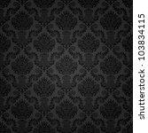 seamless damask pattern | Shutterstock .eps vector #103834115