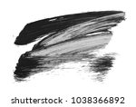 brush stroke and texture. smear ... | Shutterstock . vector #1038366892