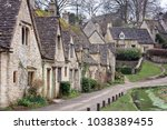 houses of arlington row in the... | Shutterstock . vector #1038389455