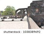 champa baoli   hammam  mandu ... | Shutterstock . vector #1038389692