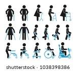 pictograms that represent... | Shutterstock .eps vector #1038398386