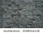 strong grand stone wall... | Shutterstock . vector #1038416128