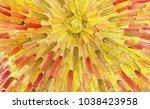 big overlapping brushstrokes of ... | Shutterstock . vector #1038423958