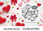 mother's day greeting card... | Shutterstock .eps vector #1038435982