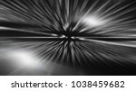 fractal explosion star with... | Shutterstock . vector #1038459682
