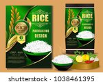 rice thailand food logo... | Shutterstock .eps vector #1038461395