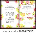 vintage delicate invitation...   Shutterstock .eps vector #1038467455