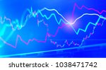 business graph charts of... | Shutterstock . vector #1038471742