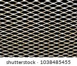 close up of a rusty metal grate ... | Shutterstock . vector #1038485455