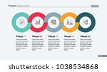 sequence of five phases... | Shutterstock .eps vector #1038534868
