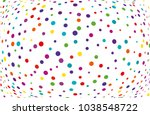 festival pattern with color... | Shutterstock .eps vector #1038548722