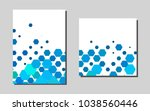 light bluevector template for...
