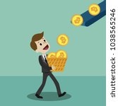 crypto currency market. finance ...   Shutterstock .eps vector #1038565246