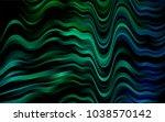 dark blue  green vector pattern ...   Shutterstock .eps vector #1038570142