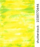 abstract yellow and green... | Shutterstock . vector #1038570646