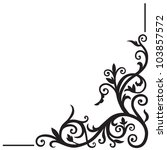 arabic floral pattern. element...