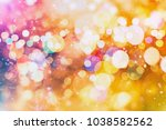 abstract blurred of blue and... | Shutterstock . vector #1038582562