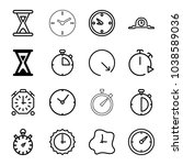 second icons. set of 16...   Shutterstock .eps vector #1038589036