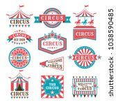 old badges and labels for... | Shutterstock .eps vector #1038590485