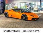 supercar lamborghini huracan...   Shutterstock . vector #1038596596