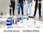people renovating the house | Shutterstock . vector #1038614062