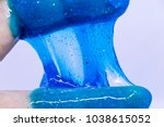 slime  alien drool  or shell... | Shutterstock . vector #1038615052