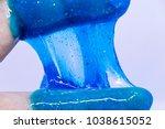 slime  alien drool  or shell... | Shutterstock . vector #1038615052