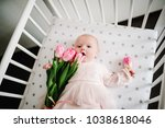greeting for the mother with... | Shutterstock . vector #1038618046