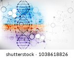 science template  wallpaper or... | Shutterstock .eps vector #1038618826