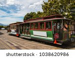 san francisco's iconic cable... | Shutterstock . vector #1038620986